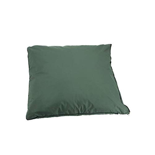 Rhubarb and Crumble – Dog Cushion – Waterproof Heavy Duty Cover, Medium - 95 x 65 x 20cm, Green