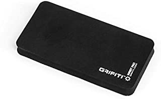GRIFITI Fat Wrist Pad 8 Mouse Wrist Rest and Wrist Rest for Keypads, Numberpads, Trackpads, Trackballs, Adding Machines, Printing Calculators Smooth Skin Rubber Surface