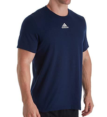 adidas Men's Amplifier Regular Fit Cotton T-Shirt EK017 XL Collegiate...