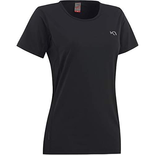 Kari Traa Camiseta Nora para mujer, color negro, XL