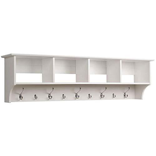 Prepac 60' Hanging Entryway Shelf, White, REP-075