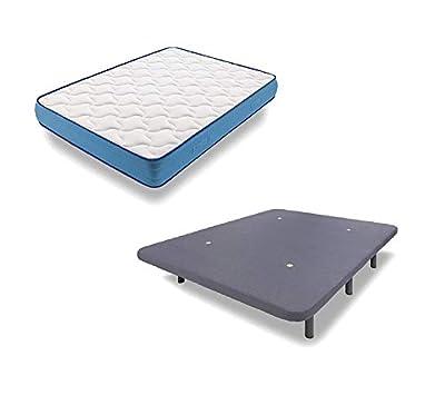 COLCHÓN: El colchón VISCORELAX de la serie platinum genera una agradable sensación térmica, distribuyendo el calor corporal y favoreciendo una postura de descanso ergonómica, libera puntos de presión y mejora la circulación sanguínea durante el sueño...