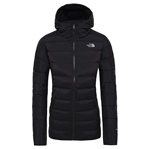 THE NORTH FACE Damen Daunenjacke Stretch DOWN Hoodie 3O7D TNF Black S