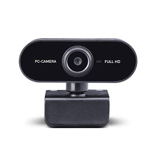 Midland W199 Webcam HD con USB con Microfono Integrato, Ideale per Videochiamate HD Widescreen, Skype, FaceTime, Hangouts, Compatibile con PC, Mac, Laptop, Macbook