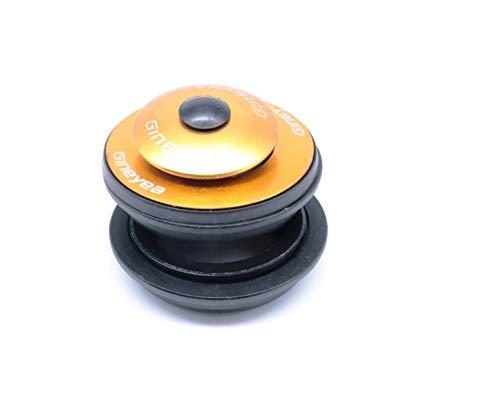 Aluminium Jeu de direction semi intégré Casque/Oreillette Roulement de commande/A, 11/844mm, or