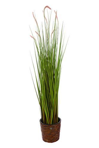Sarah B XXL Schilfgras.Riedgras, Gras, Kunstgras, 2878 Riesiges künstliches Schilfgras, 126 cm hoch, Kunstpflanze, Kunstblume, Kunstbaum, Zimmerpflanze künstlich