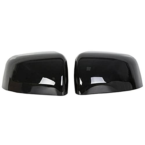 Tapa de la Cubierta del Espejo Lateral Retrovisor, Plástico ABS Auto Parts Impermeable Carcasa Protectora Apto para Grand Cherokee Dodge Durango 2011-201