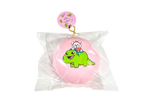 CharmsLOL Jumbo Charmy and Sugar Bun Squishy, Slow Rising Soft Squishy (Jumbo Pink - Sugar on Charmy)