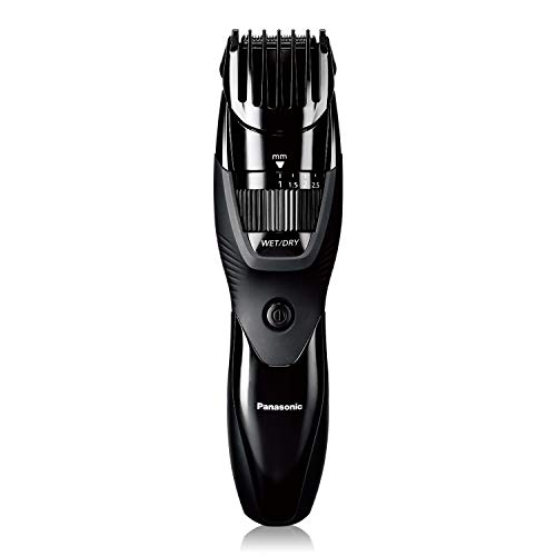 Panasonic Cordless Men's Beard Trimmer With Precision Dial, Adjustable 19 Length Setting, Rechargeable Battery, Washable - ER-GB42-K (Black)