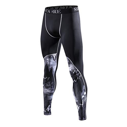 saracacore Pantalones Mallas Deporte Termicas Compresión Le
