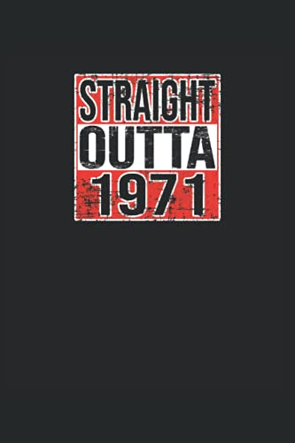 Straight Outta 1971 Grunge Look: Notebook   Dots, Regular (6'x9' (15.24 x 22,86 cm)), 120 pages, cream paper, matte cover