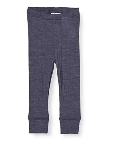 NAME IT Baby-Jungen NBMWANG Wool Needle LONGJOHN NOOS XX Leggings, Ombre Blue, 68