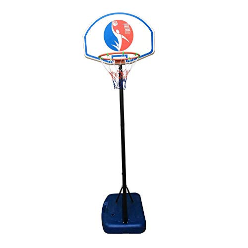 Purchase HAPA Kids Portable Basketball Stand (Rim Height 1.5-1.8m) Maxium Applicable Ball Model Blue...