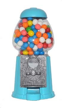 Gumball Dreams Classic Gumball Machine/Candy Dispenser 15 Inch  Turquoise