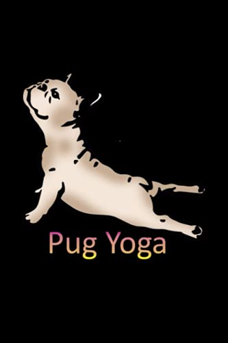 Yoga Pug: Hangman Puzzles | Mini Game | Clever Kids | 110 Lined pages | 6 x 9 in | 15.24 x 22.86 cm | Single Player | Funny Great Gift