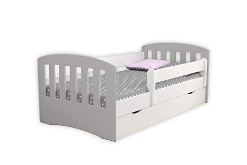 Children's Beds Home Single Bed Classic 1 Mix - For Kids Children Toddler Junior No Mattress and No Drawers Included