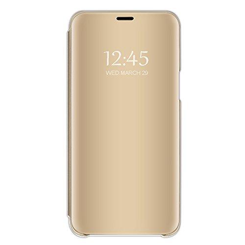Beryerbi Funda Samsung Galaxy A5 2017 Carcasa Espejo Mirror Flip PC Hard...