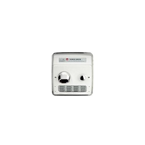 A-Series World Dryer Ra5-q974 Hand Dryer, Recessed, 115v, 20 Amp, ADA Handicap Compliant, Commercial Restroom