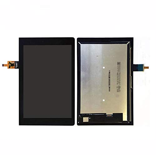 Display a Schermo Piatto 10.1' Pollici LCD + Touch/Fit for Lenovo Yoga Display LCD Tab 3 YT3-X50L + Digitizer Assembly Obiettivo di Vetro dello Schermo di Tocco (Color : LCD with Touch)