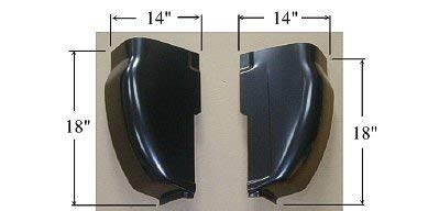 OE Replacement Truck Cab Corner FORD PICKUP FORD SUPERDUTY 1999-2007