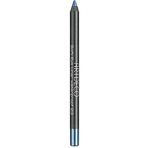 ARTDECO Soft Eyeliner Waterproof, Kajalstift blau, Nr. 23, cobalt blue