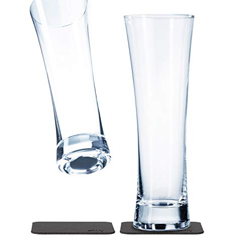 silwy magnetic system, vasos de cristal, vidrio magnético para acampar y navegar // cerveza