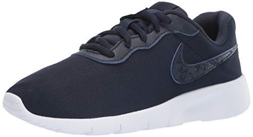 Nike Tanjun (GS), Zapatillas de Atletismo Hombre, Multicolor (Obsidian/Obsidian/White 407), 38.5 EU