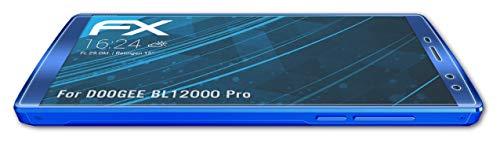 atFolix Schutzfolie kompatibel mit DOOGEE BL12000 Pro Folie, ultraklare FX Bildschirmschutzfolie (3X)