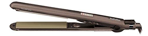 BaByliss ST286PE Warm hair straightener Marrón alisador de cabello - Plancha de pelo (Marrón)
