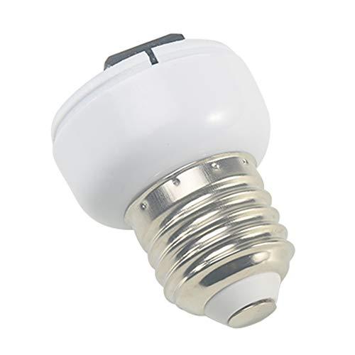 Excellent112 Lampensockel, E27-Adapter, Zubehör, weiß, ABS US/EU Stecker, Lampenfassung, Lampensockel