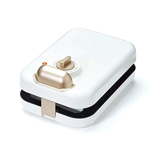 Máquina de waffle de sándwich, tostadoras con placas removibles, recubrimiento antiadherente, otro en el desayuno y almuerzo, 600W BJY969