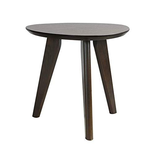 Home Beistelltische Nordic Massivholz Kreative Nachttisch Möbel Japanischen Stil Einfachen Holztisch Kleinen Teetisch Computer Ecktisch, BOSS LV, Schwarz