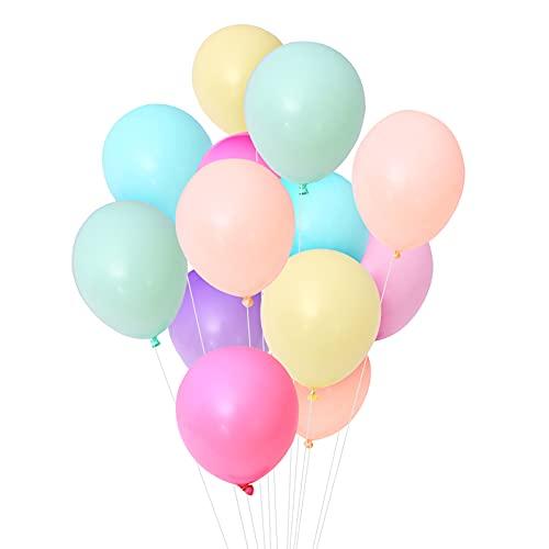 50 Stück 10 Zoll Bunt Latex Luftballons, Benutzt für Party Dekoration Abschluss Geburtstag Hochzeit Engagement Baby Dusche.
