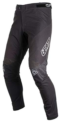 Leatt MTB DBX 4.0, Pantaloni Unisex – Adulto, Black/Teal, XL