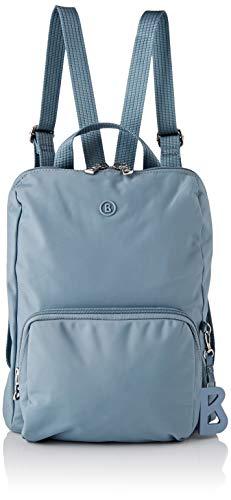 Bogner Damen Verbier Maxi Backpack Mvz Rucksack, Blau (lightblue), 4x32x27 cm