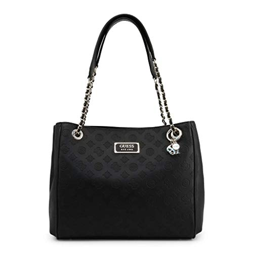 Guess Logo Love Girlfriend Carryall Black