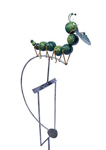 SK Style Gartenwind-Spinner-Skulptur - Raupe