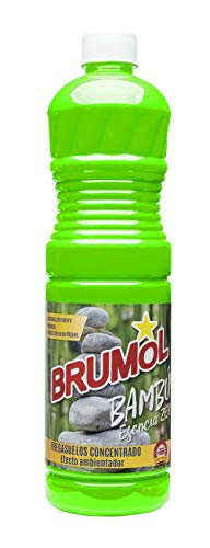 Brumol Fregasuelos Concentrado Bambú - Paquete de 15 x 1000 ml - Total: 15000 ml