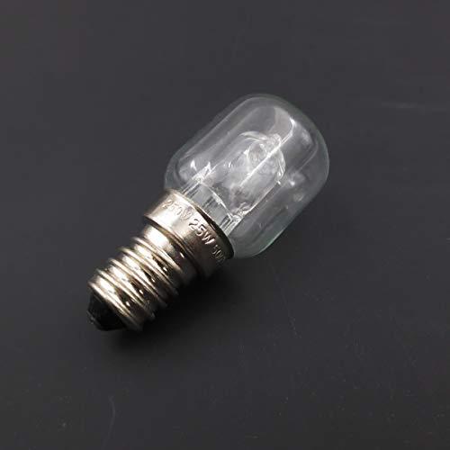 Meter Star forno a microonde E14 lumaca boccone ad alta temperatura 500 gradi 25W lampadine alogene gialle calde, lampadine alogene di tungsteno, lampadine al quarzo
