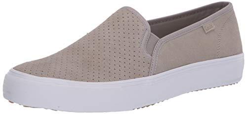 Keds Damen Double Decker Perf Wildleder Sneaker, Grau (grau), 35.5 EU