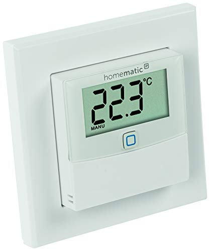 ELV Homematic IP Temperatur/Luftfeuchtesensor mit Display HmIP-STHD, ARR-Bausatz