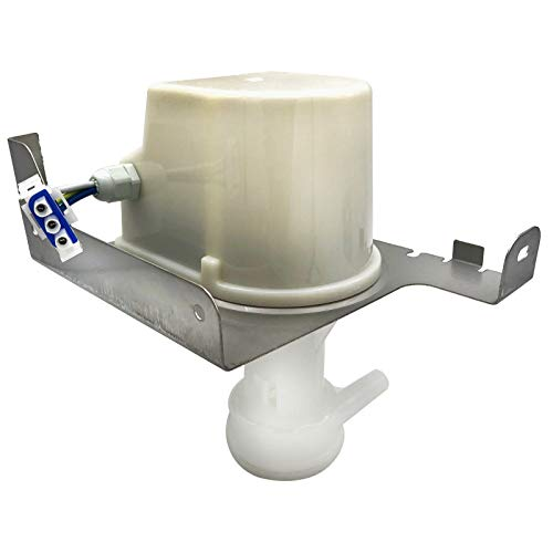 Ice Maker Circulation Pump Assembly Replace for 2217220 Water Pump Compatible with GE Whirlpool Hotpoint Kenmore Ice Maker Replaces WP2217220 2185531 2185748