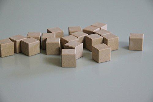 WISSNER aktiv lernen - 150 Würfel 2 cm - RE-Wood
