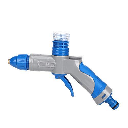 Pistola de agua de alta presión para limpieza de lavado de coches, boquilla de cobre ajustable Pistola de pulverización de agua de jardín de alta presión
