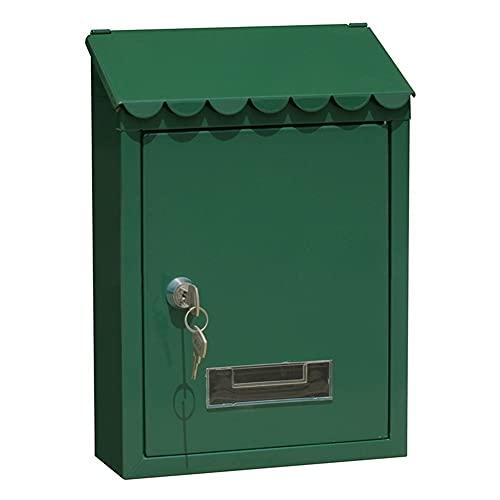 SDKFJ Caja de Correo montada en la Pared clásica, Caja de Poste...