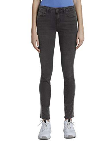 TOM TAILOR Damen Jeanshosen Alexa Skinny Jeans mid Stone wash Denim,30/32