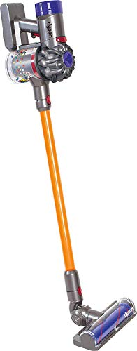 CASDON Little Helper Dyson Cord-Free Vacuum Cleaner Toy, Grey, Orange and Purple