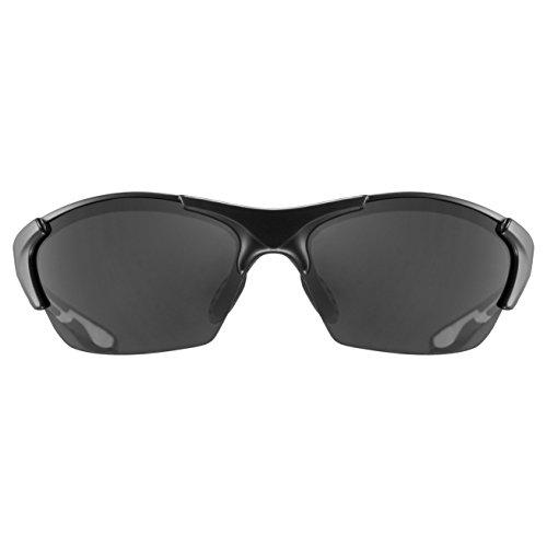 Uvex Unisex Blaze III Sportbrille, One Size, black mat - 2