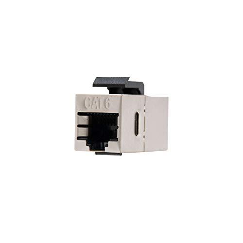 NanoCable 10.21.0503 - Empalme para cable de red Ethernet RJ45 para panel...
