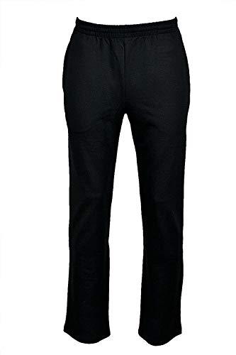 hajo - Pantaloni sportivi da uomo Nero 39